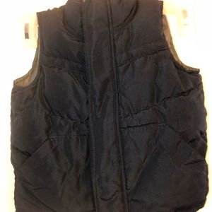 Other - old navy vest color navy and Gray